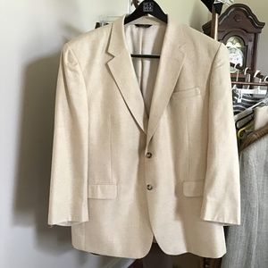 Men's silk Jos A Bank sport coat